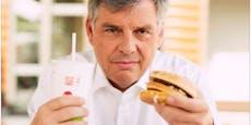 Fast-Food-Diät: Dieser Mann nahm mit Burgern 10 Kilo ab
