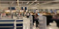 Riesige Warteschlangen bei Ikea-Kassen in der SCS