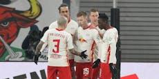 2:1 gegen Augsburg! Leipzig bleibt an den Bayern dran