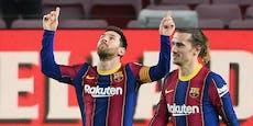 Messi-Doppelpack bei Barcas 5:1-Gala gegen Alaves