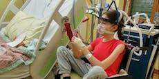 Mädchen wuchs nach Operation 13 cm in sieben Wochen