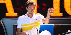 Tennis-Rüpel wirft Trainer während Spiels aus der Arena