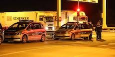 Mann auf Lkw-Parkplatz bei Raststation niedergestochen