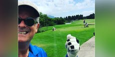 Ex-ORF-Star postet Südafrika-Golffoto, kriegt Shitstorm