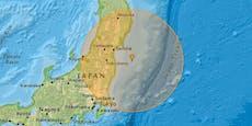 Stärke 7,1! Schweres Erdbeben erschüttert Fukushima