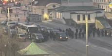 Tiroler Corona-Reisebus am Naschmarkt gestoppt