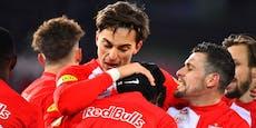 4:2! Späte Tore retten Salzburg gegen die WSG Tirol
