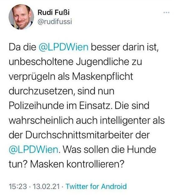Dieser Tweet stößt Innenminister Karl Nehammer sauer auf