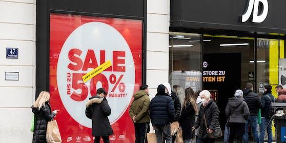 Shopping in der Wiener City (Archivfoto)