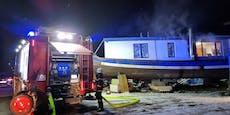 Schiff ahoi! Hausboot bei Wilhelmsburg brannte