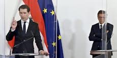 Das sagt Kanzler Kurz zu Anschobers Rücktritt