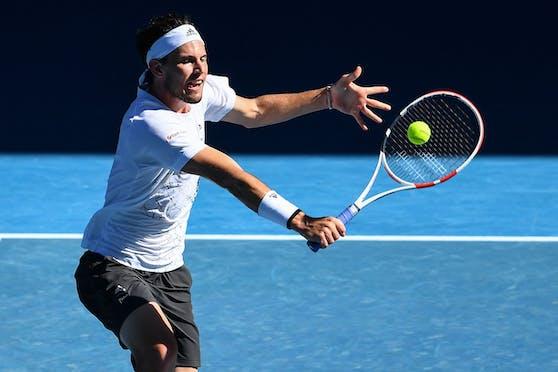 Dominic Thiem scheitert bei den Australian Open.