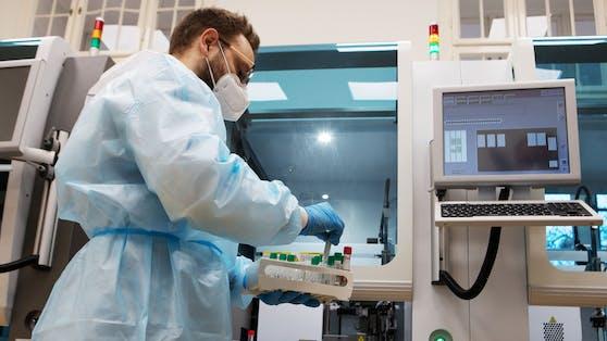 Im Labor werden die Proben analysiert. (Symbolbild)