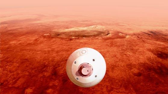 Die NASA will die Landung der Perseverance auf dem Mars live übertragen.