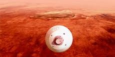NASA streamt Landung von Mars-Rover live