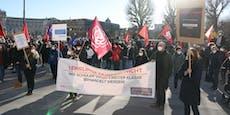 Schüler-Protest gegen Bildungsminister Faßmann
