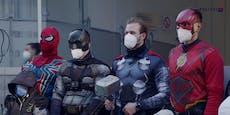 WEGA-Beamte werden zum Kinderkrebs-Tag zu Superhelden