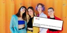 Stadt Wien gratuliert Band und weiß nicht, wie sie heißt