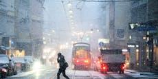Schnee im Osten, dann wird Österreich aufgeheizt