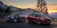 Ford S-Max und Galaxy starten mit Vollhybrid-Antrieb