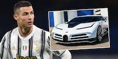 Ronaldo hilft krebskrankem Bub, gönnt sich Luxus-Auto