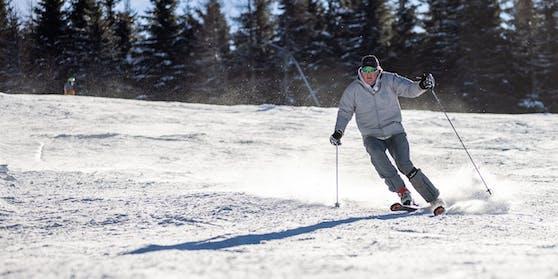 Albert Fortell ist ein leidenschaftlicher Skifahrer.
