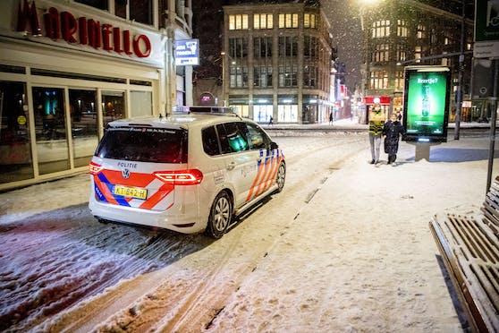 Seit 23. Jänner gilt in den Niederlanden eine nächtliche Ausgangssperre.