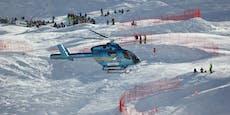 Skifahrer stürzt auf Speedstrecke, verliert Bewusstsein