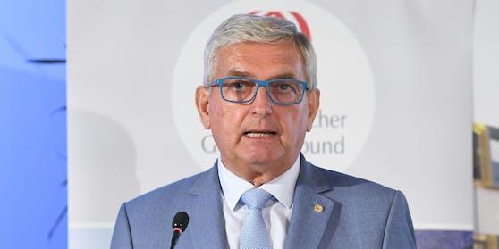 Gemeindebund-Präsident Alfred Riedl