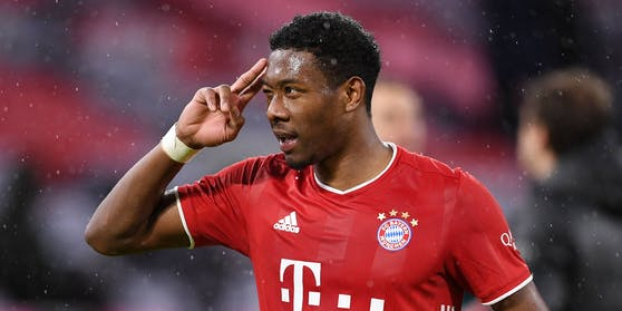 David Alaba wird die Bayern im Sommer verlassen.
