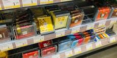 Was im Supermarkt am häufigsten gestohlen wird