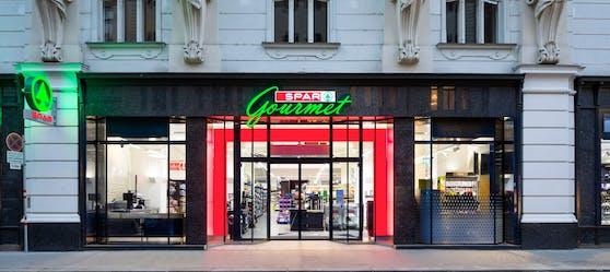 Eine SPAR Filiale in der Liechtensteinstraße