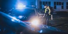 Tuner (19) flüchtet vor Polizei, prallt gegen Leitschiene