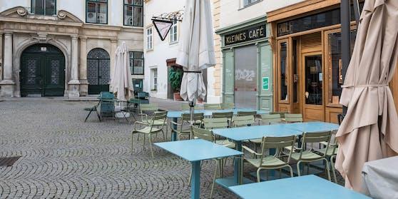 """Keine Chance für die Gastro: Das """"Kleine Cafe"""" am Franziskanerplatz und alle anderen Lokale bleiben wohl bis Ostern 2021 geschlossen"""