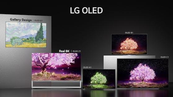 LG startet den weltweiten Rollout der 2021er-TV-Reihe mit neuen OLED-TVs.
