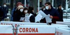 Zahl der neuen Corona-Fälle steigt auf über 1.700