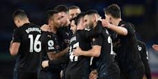 City-Siegesserie geht mit 3:1 gegen Everton weiter
