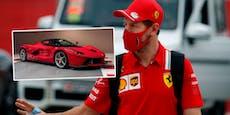 11 Millionen Euro wert: Vettel verkauft Luxus-Ferraris