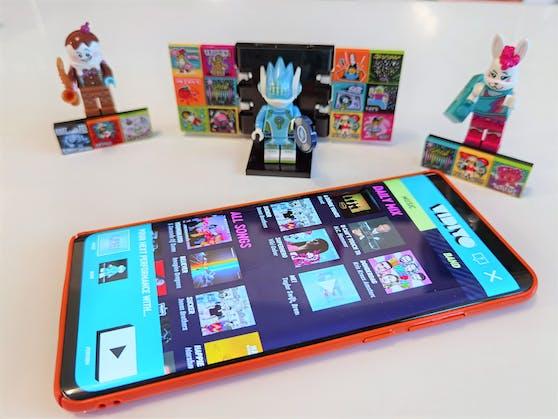 Lego Vidiyo im Test: So wird das Handy zur Tanz-Bühne