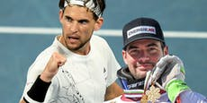 Tennis-Ass Thiem sticht die Ski-Stars aus