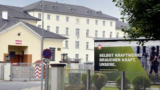 Die Radetzky-Kaserne in Horn, Niederösterreich