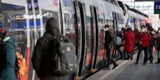 Infizierte Person fuhr im Zug von Wien nach Graz