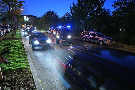 Polizei-Planquadrat gegen Raser in Wien