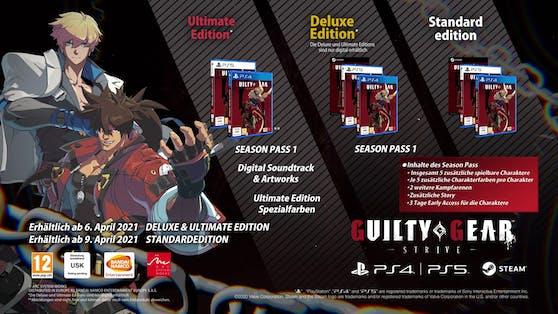 """""""Guilty Gear -Strive-"""" ist ab sofort digital für PlayStation 4, PlayStation 5 und PC vorbestellbar."""