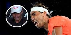 Tennis-Star Nadal nach Pleite von Krämpfen gebeutelt