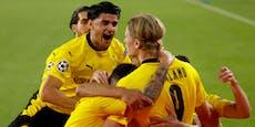 Dortmund schießt sich mit 3:2-Sieg Frust von der Seele