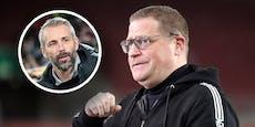 Gladbach-Boss Eberl: So geht es mit Coach Rose weiter