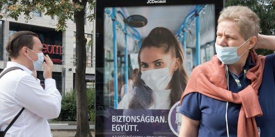 In Ungarn steigt die Zahl der Corona-Neuinfektionen trotz Lockdowns wieder.