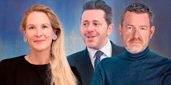 """v.l.n.r: """"Heute""""-Herausgeberin Eva Dichand, Wirtschaftskammer-Chef Harald Mahrer und Ex-""""Bild""""-Chefredakteur Kai Diekmann"""