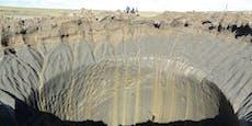Aliens? Forscher lösen Rätsel um mysteriöse Krater